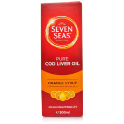 Seven Seas Orange Syrup & Cod Liver Oil Liquid