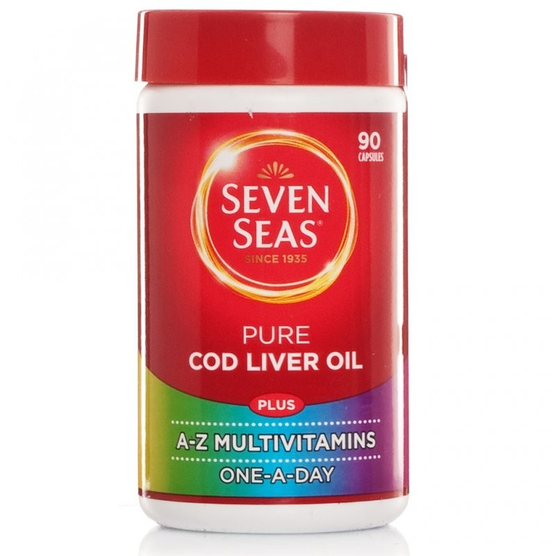 Seven Seas Pure Cod Liver Oil & Multivitamins