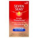 Seven Seas Cod Liver Oil High Strength Gelatine Free Capsules 120s