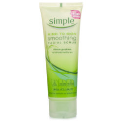 Simple Smoothing Facial Scrub