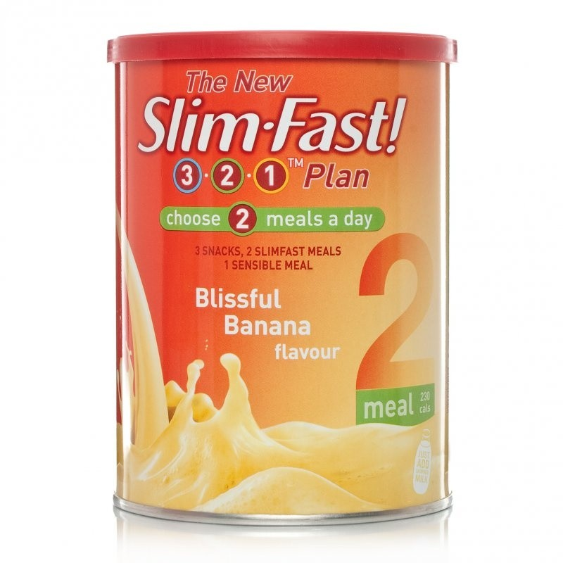 Slim Fast Blissful Banana Milkshake Powder