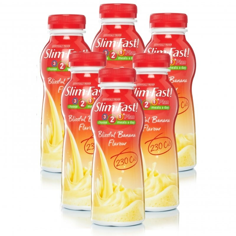 Slim Fast Blissful Banana Shake Multipack