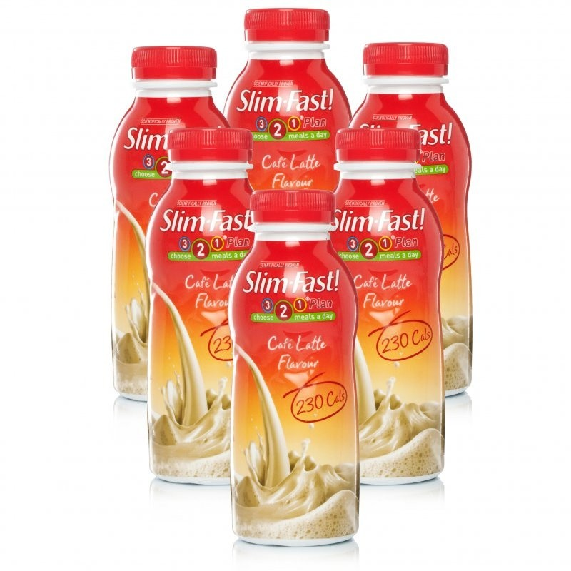 Slim Fast Cafe Latte Shake Multipack