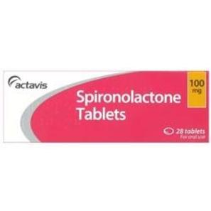 Spironolactone Tablet 100mg - Prescriptions - £0.24