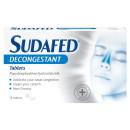 Sudafed Decongestant Tablets