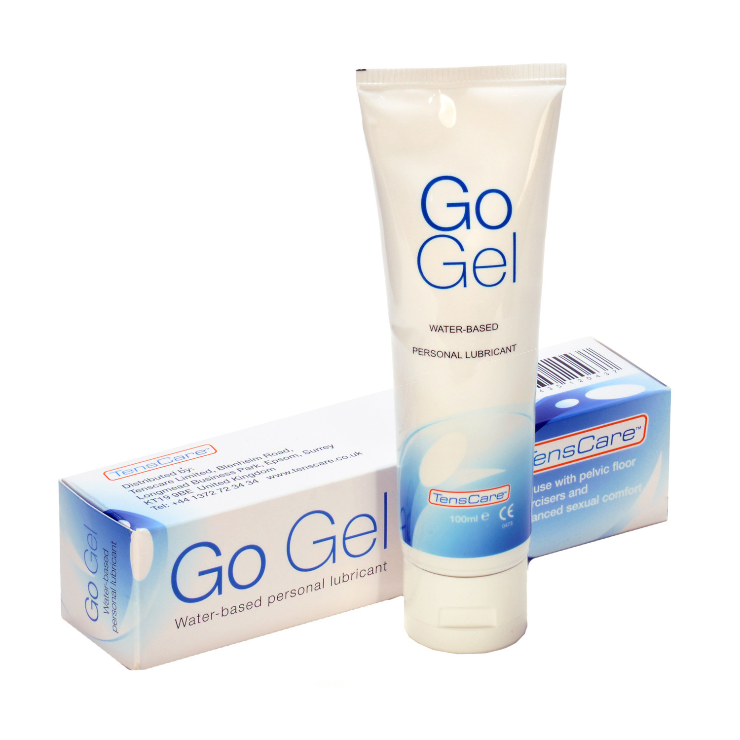 TensCare Go Gel Water based lubricant for use with Pelvic Floor Exercisers