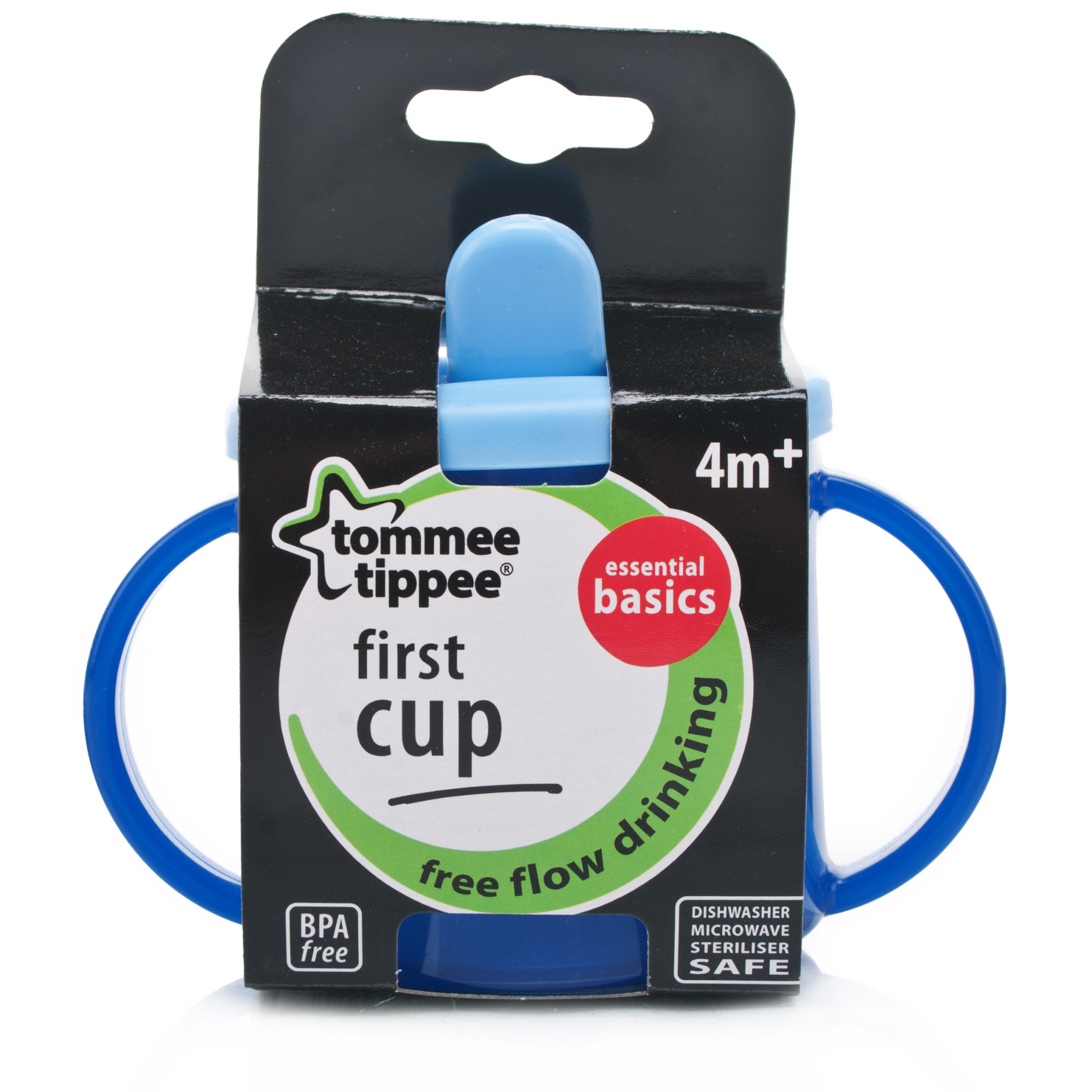 Tommee Tippee Essentials First Cup 4months Blue