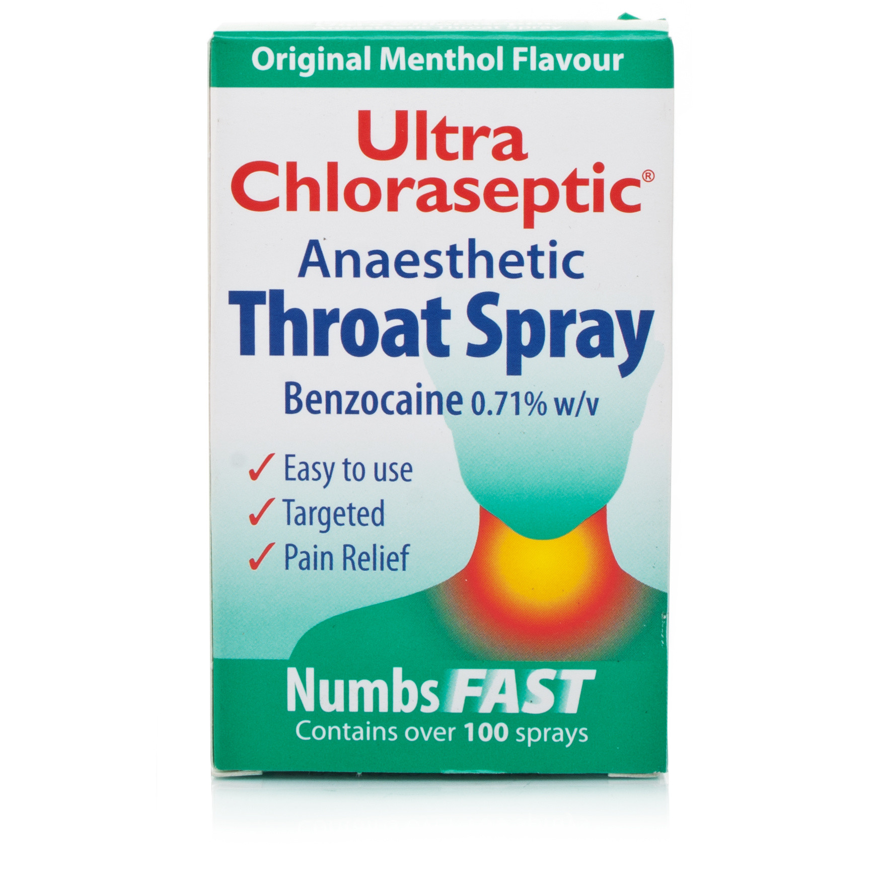 Ultra Chloraseptic Anaesthetic Throat Spray | Chemist Direct