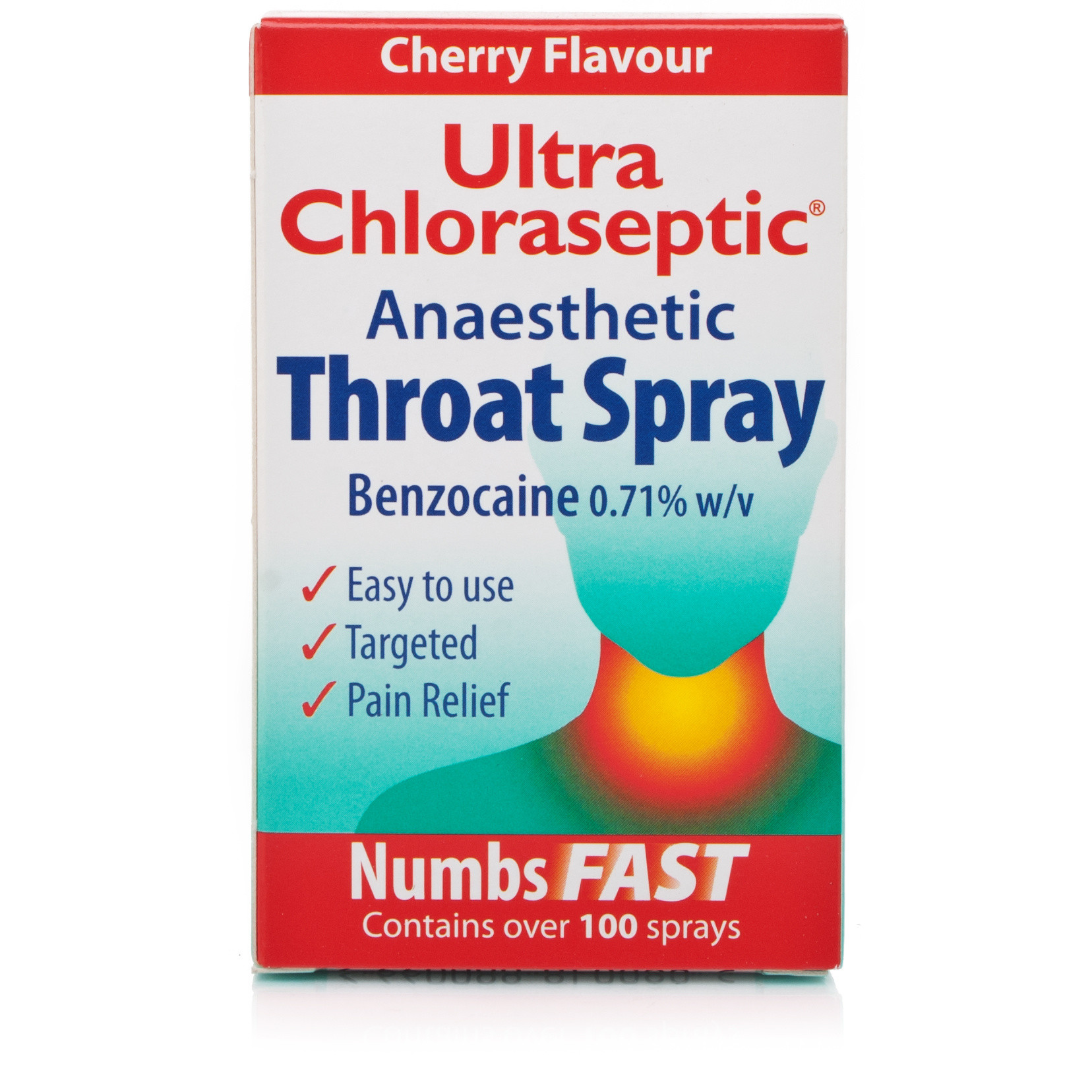 Ultra Chloraseptic Throat Spray Cherry
