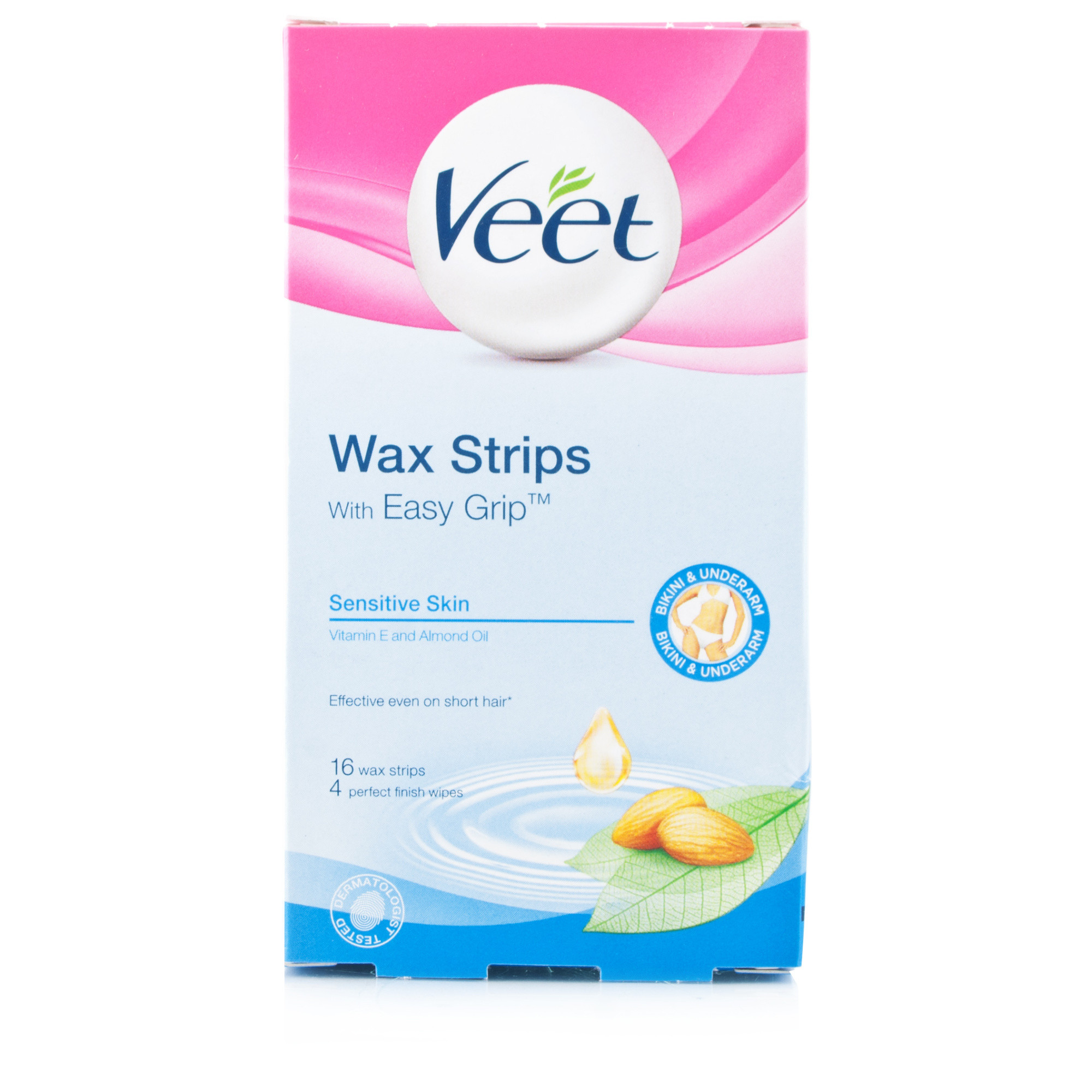 Veet Bikini & Underarm Wax Strips Sensitive