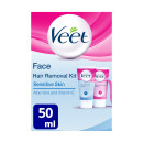 Veet Hair Removal Face Kit Sensitive Skin