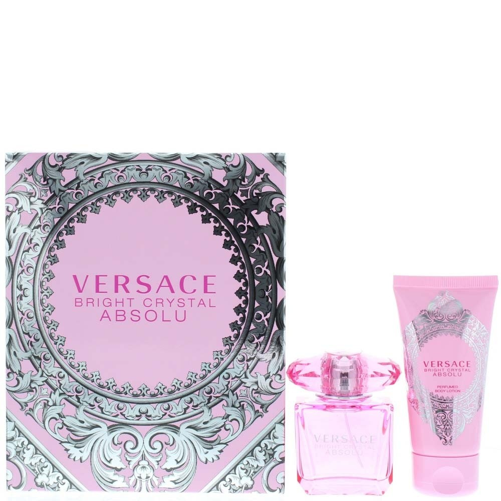 Versace Bright Crystal Absolu Two Piece Set