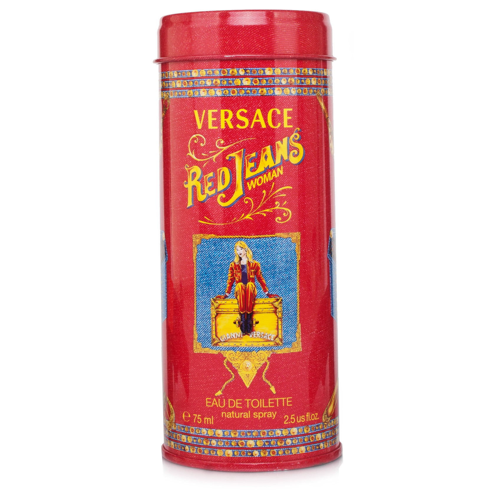 Versus By Versace Red Jeans Ladies Edt Spray