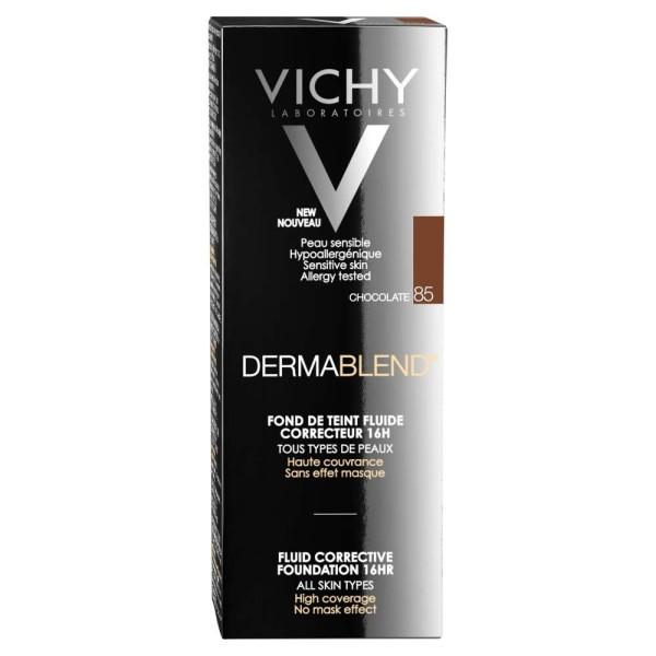 Vichy Dermablend Fluid Corrective Foundation Shade 85
