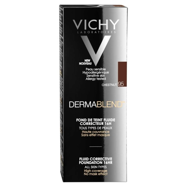 Vichy Dermablend Fluid Corrective Foundation Shade 95