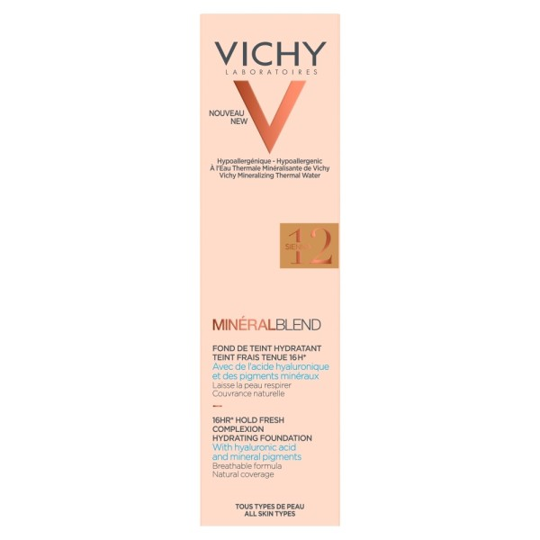 Vichy Mineralblend Fluid Sienna Foundation