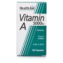 HealthAid Vitamin A 5000iu Capsules