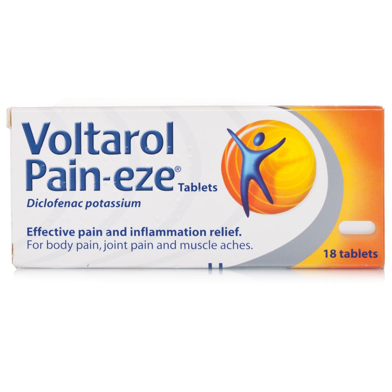 Voltarol Pain-Eze Extra Strength 25Mg.