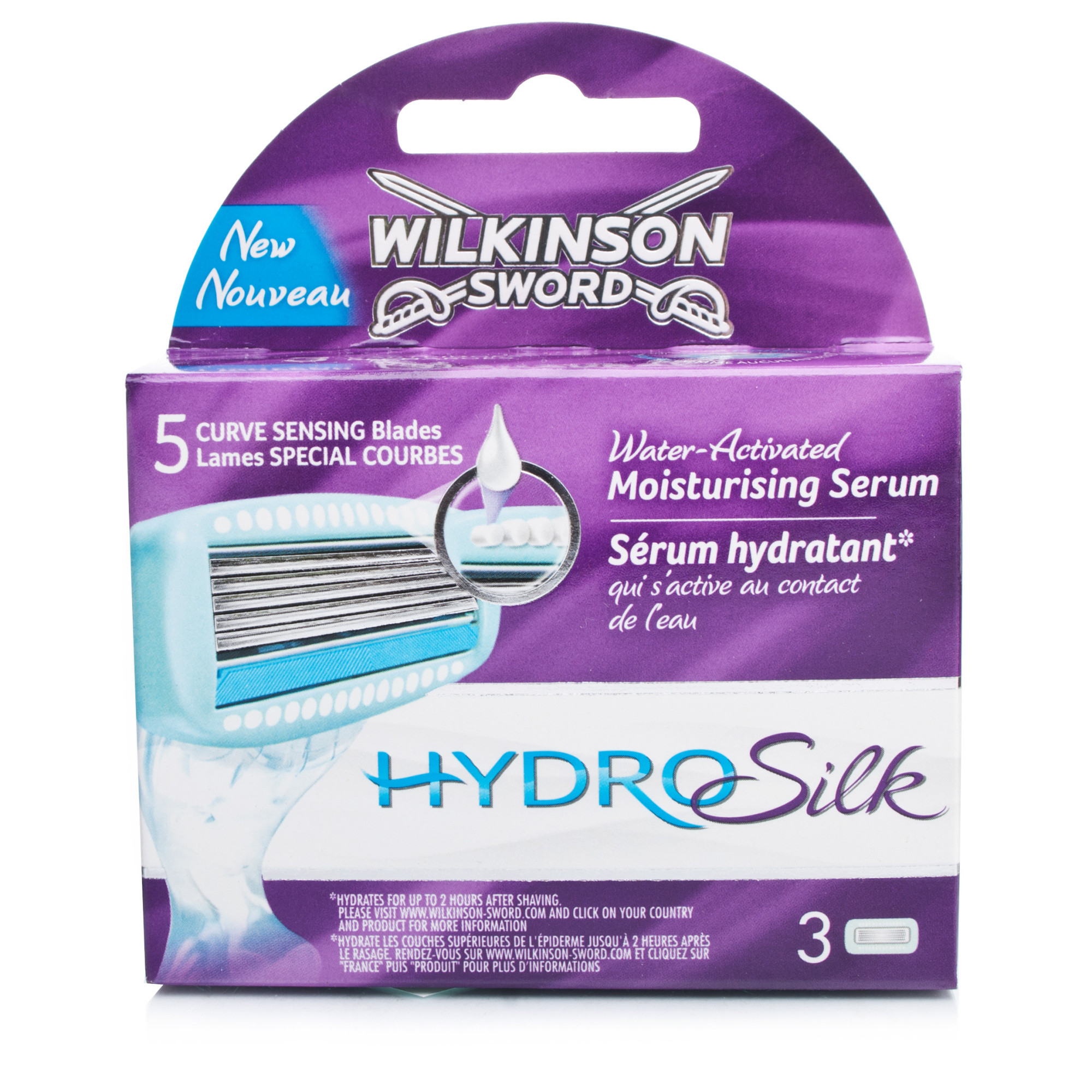 Wilkinson Sword Hydro Silk Replacement Blades