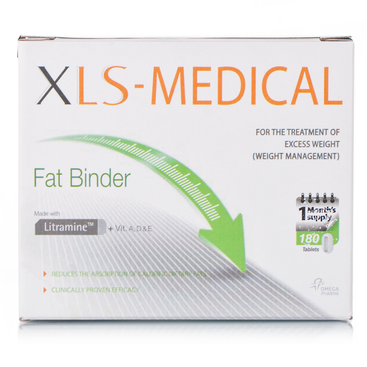 XLS-Medical Fat Binder 180 Tablets