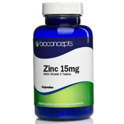 Zinc 15mg  With Vitamin C Tablets