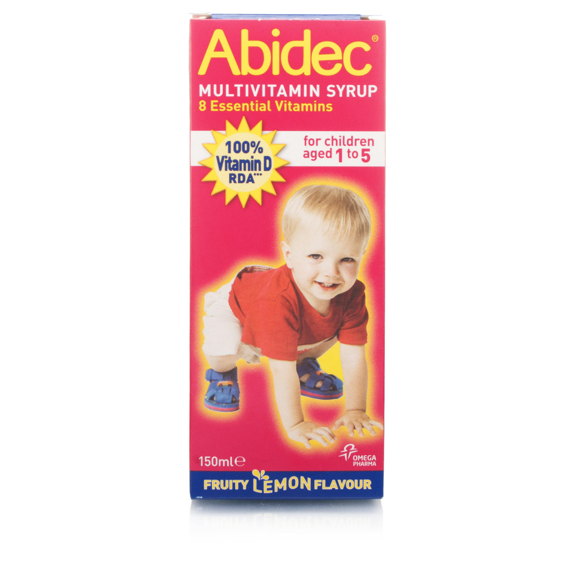 Stockists of Abidec Multivitamin Syrup With Omega 3