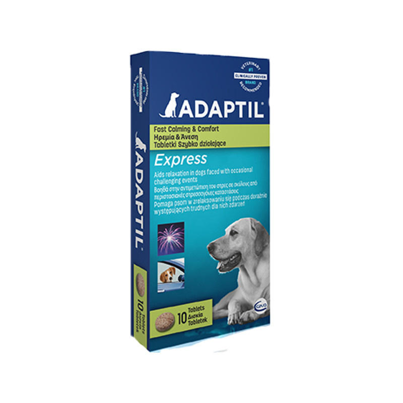 Stockists of Adaptil Express Tablets