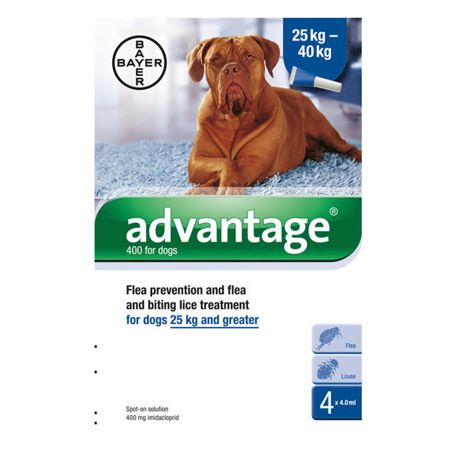 Image of Advantage 400 For Dogs
