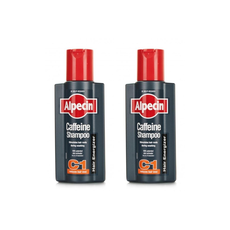 Alpecin Caffeine Shampoo C1  Twin Pack