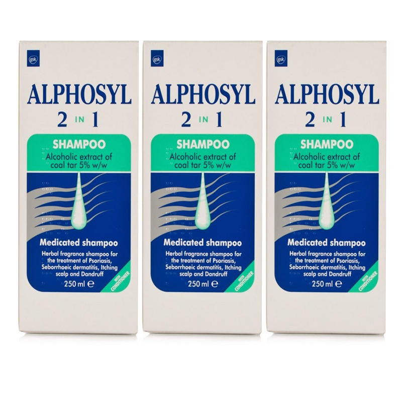 Alphosyl 2 In 1 Shampoo  Triple Pack