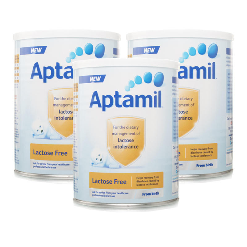 Aptamil Lactose Free from Birth Milk Powder  Triple Pack