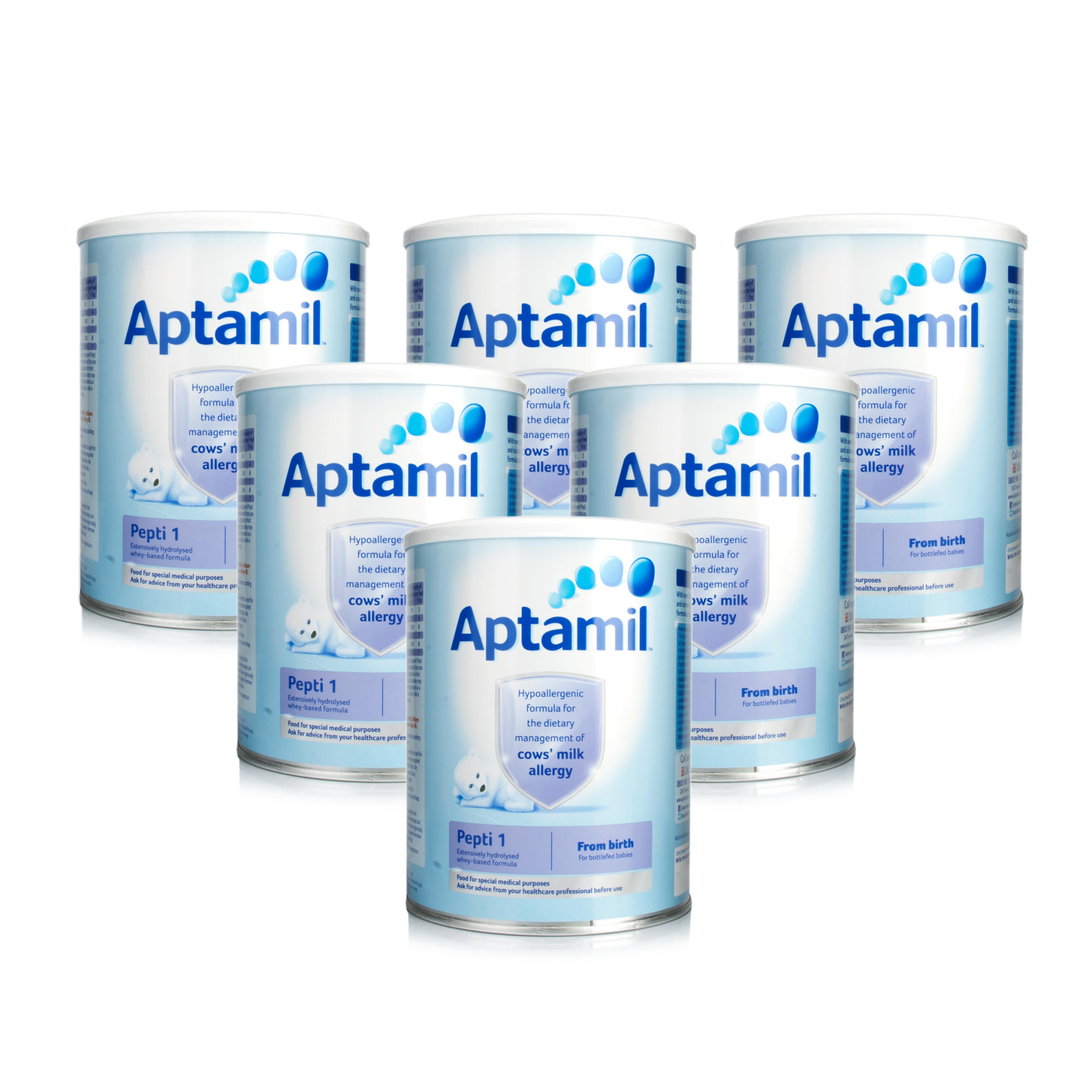 Aptamil 1 Pepti Milk Powder 800g  6 Pack