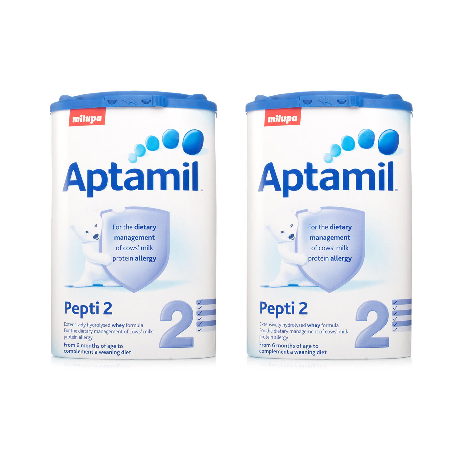 Aptamil Pepti 2 Milk Formula 400g  Twin Pack