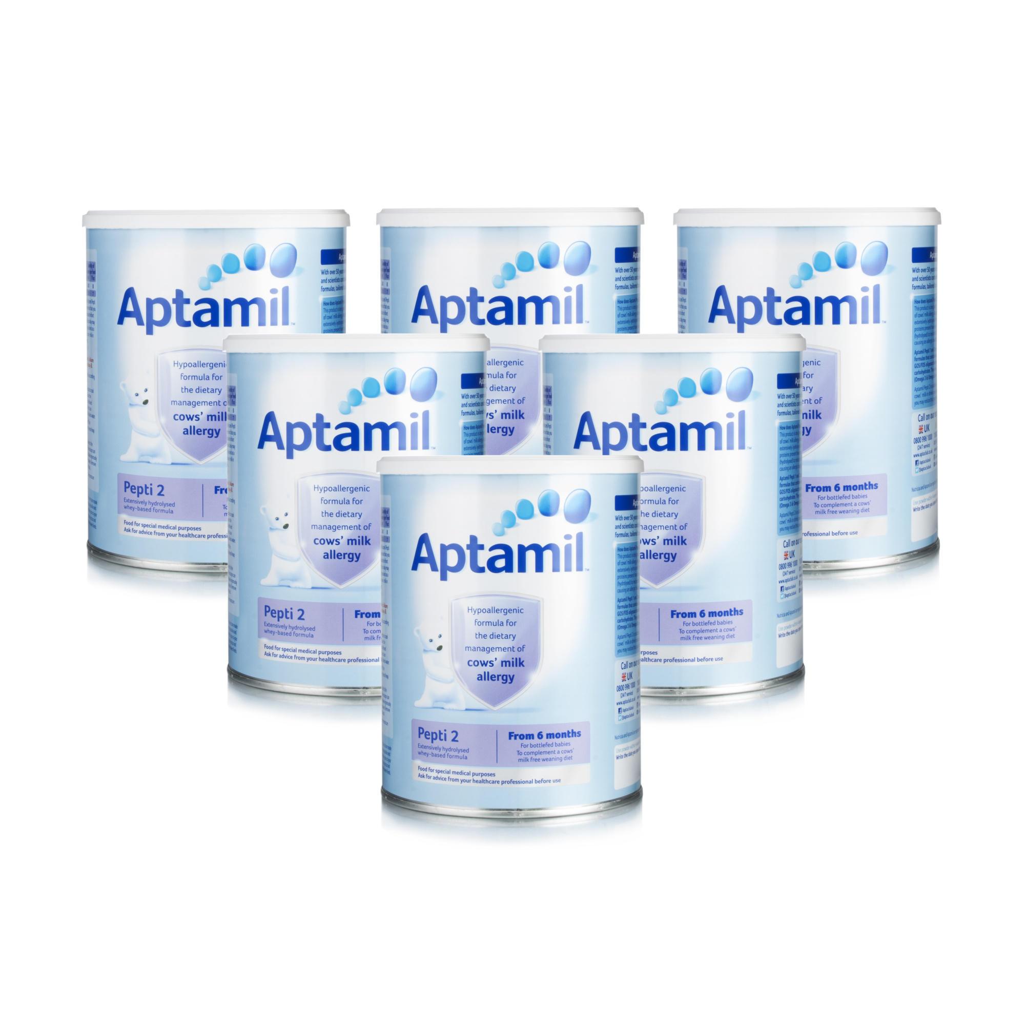 Aptamil Pepti 2 Milk Formula 800g  Six Pack