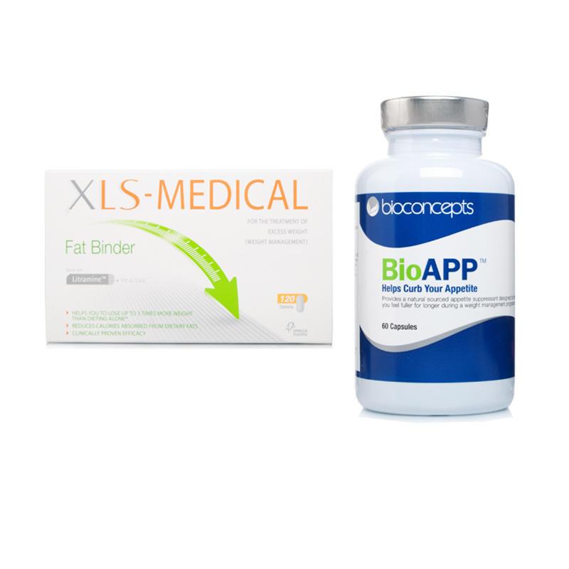 BioAPP & XLS Medical Fat Binder 120 Caps