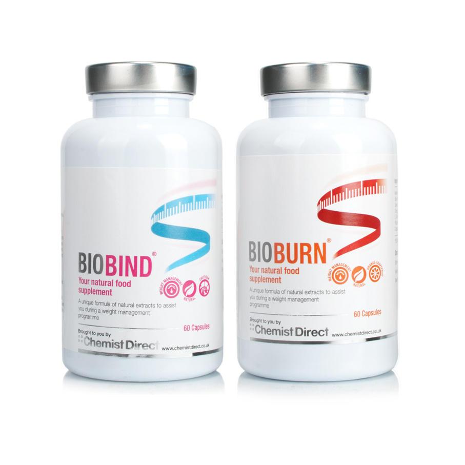 BioBIND Fat Binder & BioBURN Fat Burner