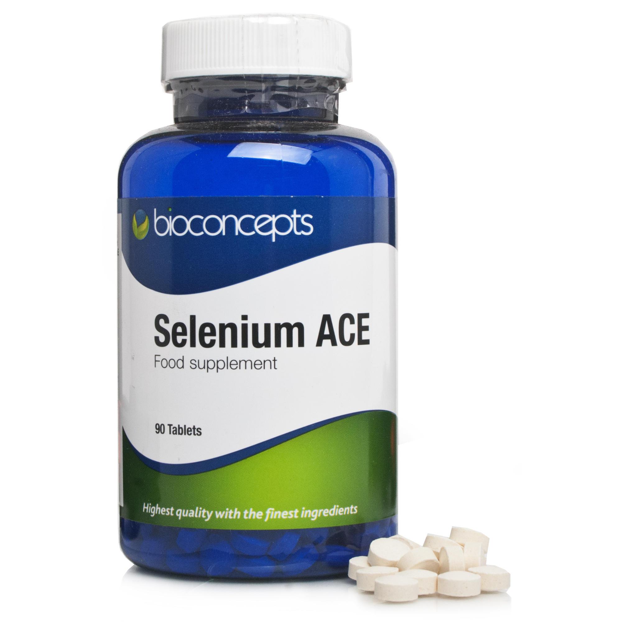 Bioconcepts Selenium ACE Supplements Chemist Direct