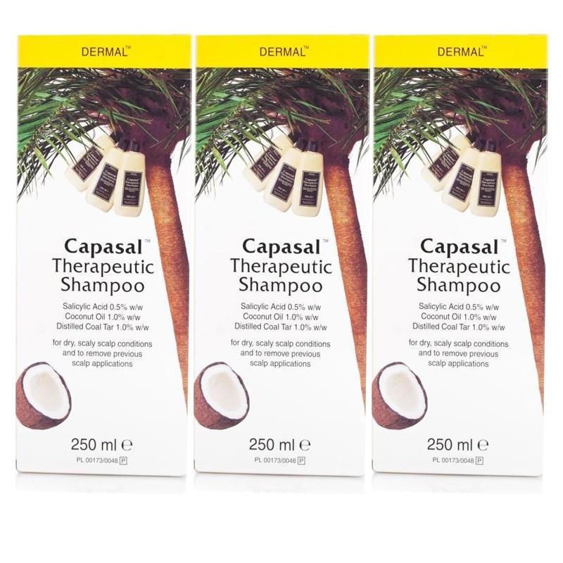 Capasal Therapeutic Shampoo 250ml  Triple Pack