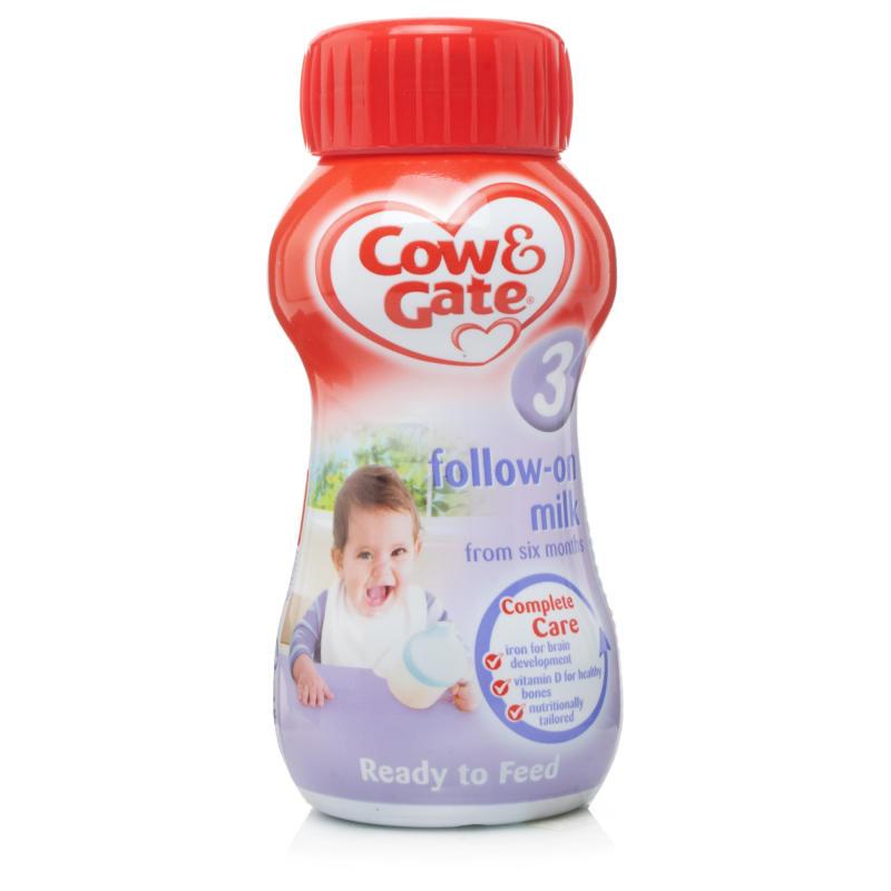 Cow Amp Gate Ready To Drink Follow On Milk Baby Feeding