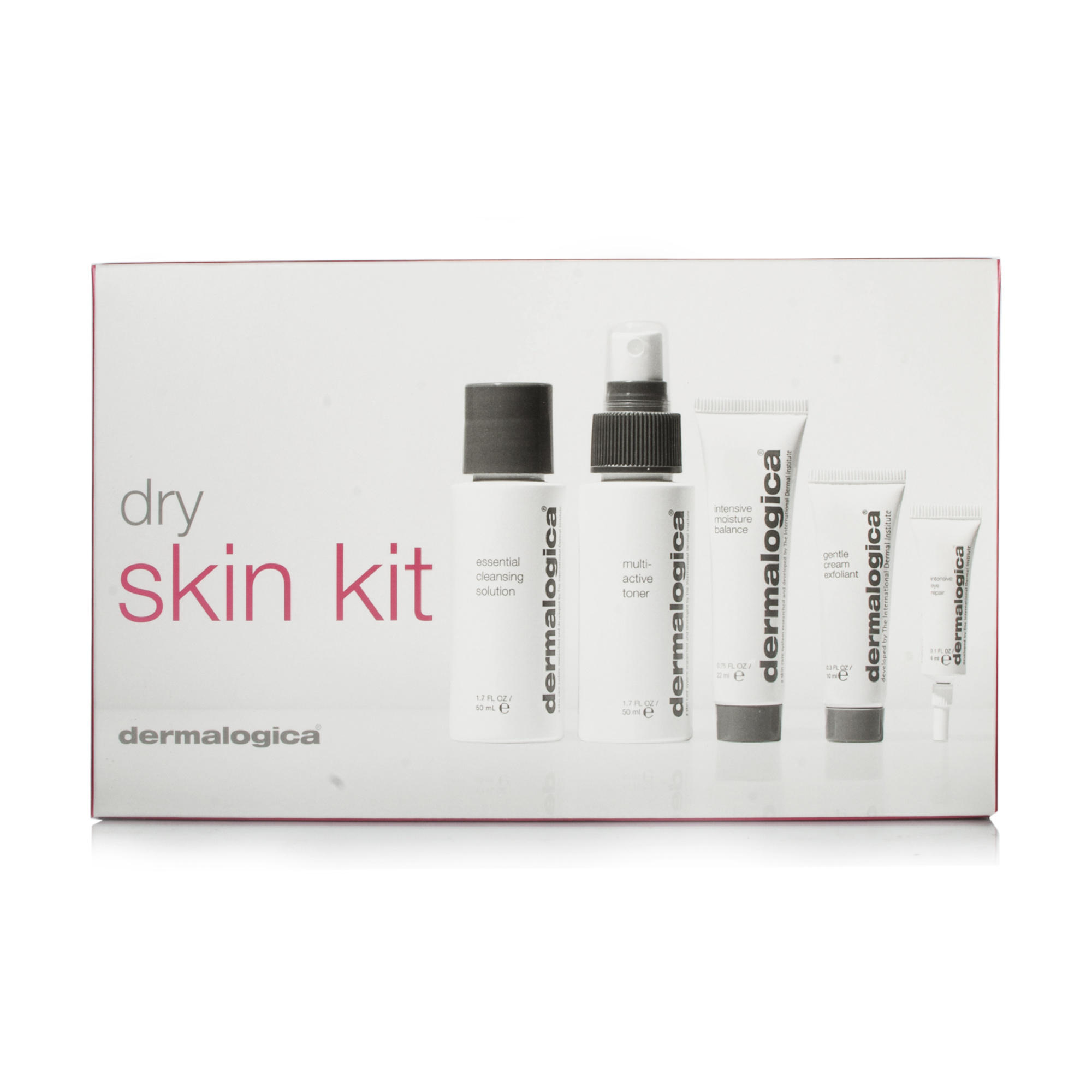 how to use dermalogica dry skin kit