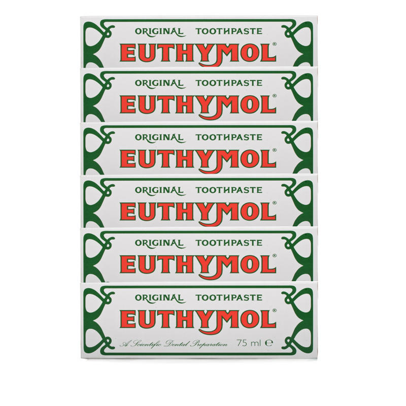 Euthymol Original Toothpaste  6 Pack