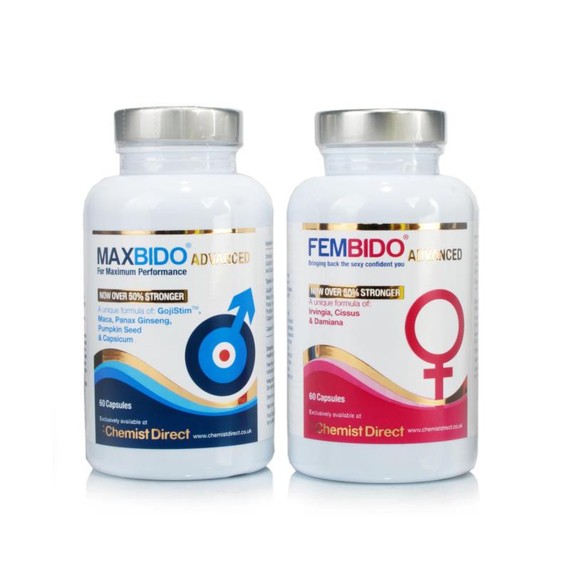 Fembido Advanced for Women and Maxbido Advanced for Men