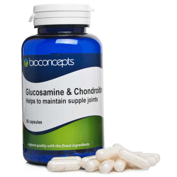 Bioconcepts Glucosamine & Chondroitin Capsules