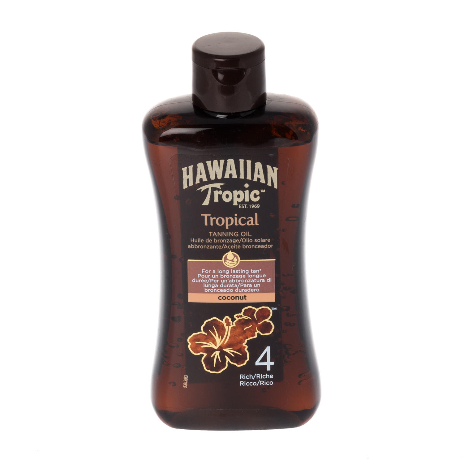 Hawaiian Tropic Professional Tanning Oil SPF4 Rich