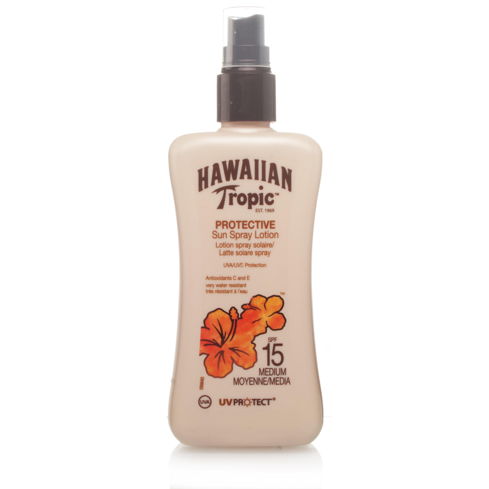 Hawaiian Tropic Satin Protection Sun Spray Lotion SPF15 200ml