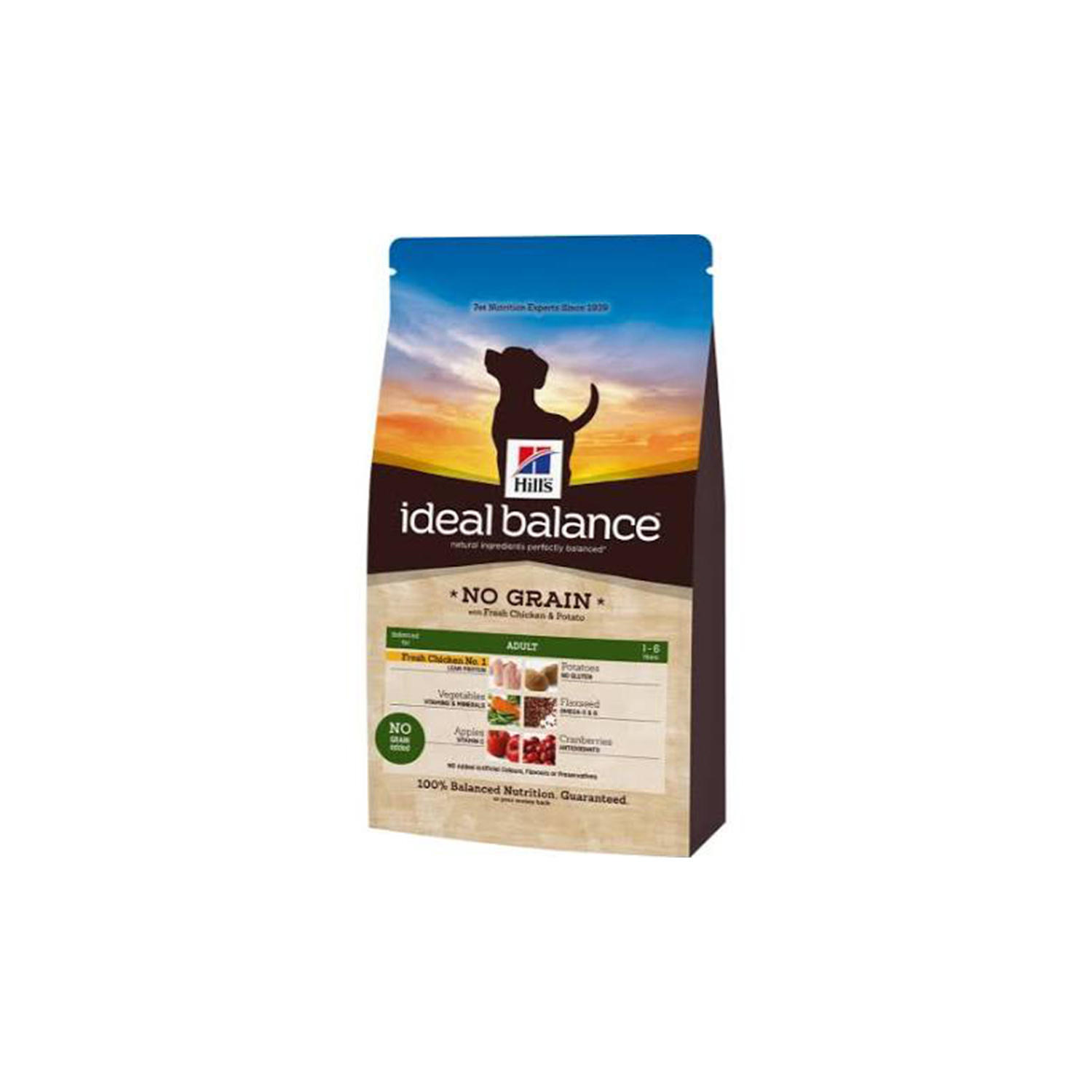 Click to view product details and reviews for Hills Ideal Balance Canine Adult No Grain With Fresh Chicken And Potato.