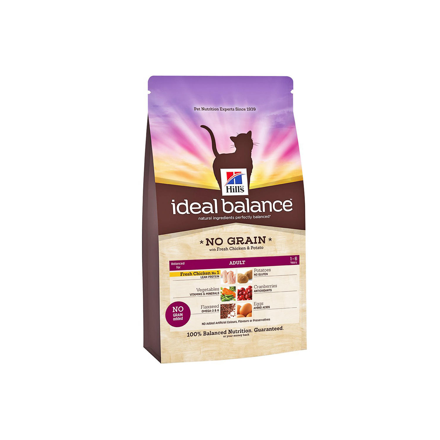 Click to view product details and reviews for Hills Ideal Balance Feline No Grain With Fresh Chicken Potato.