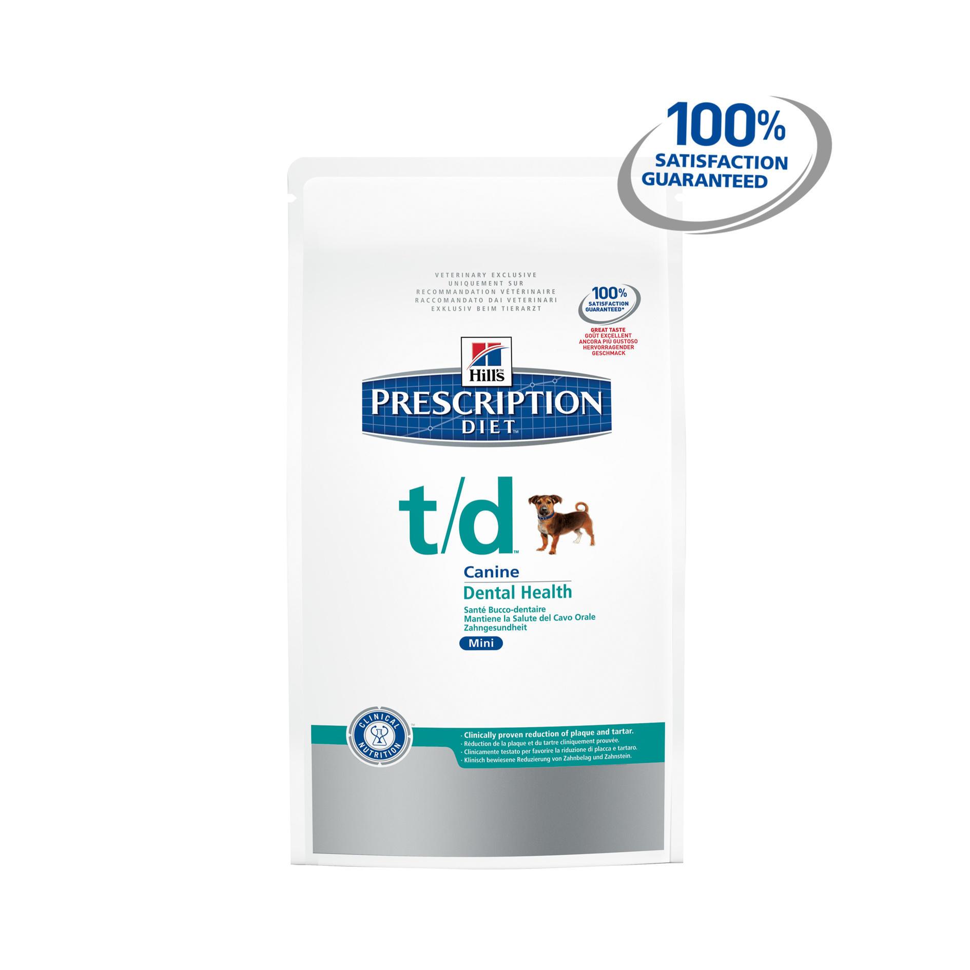 Hills Prescription Diet Canine T D Mini
