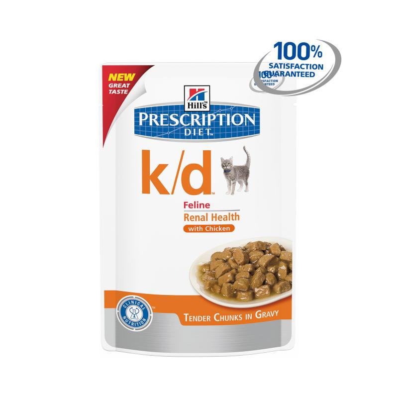 Hills Prescription Diet K D Cat Food Pouches