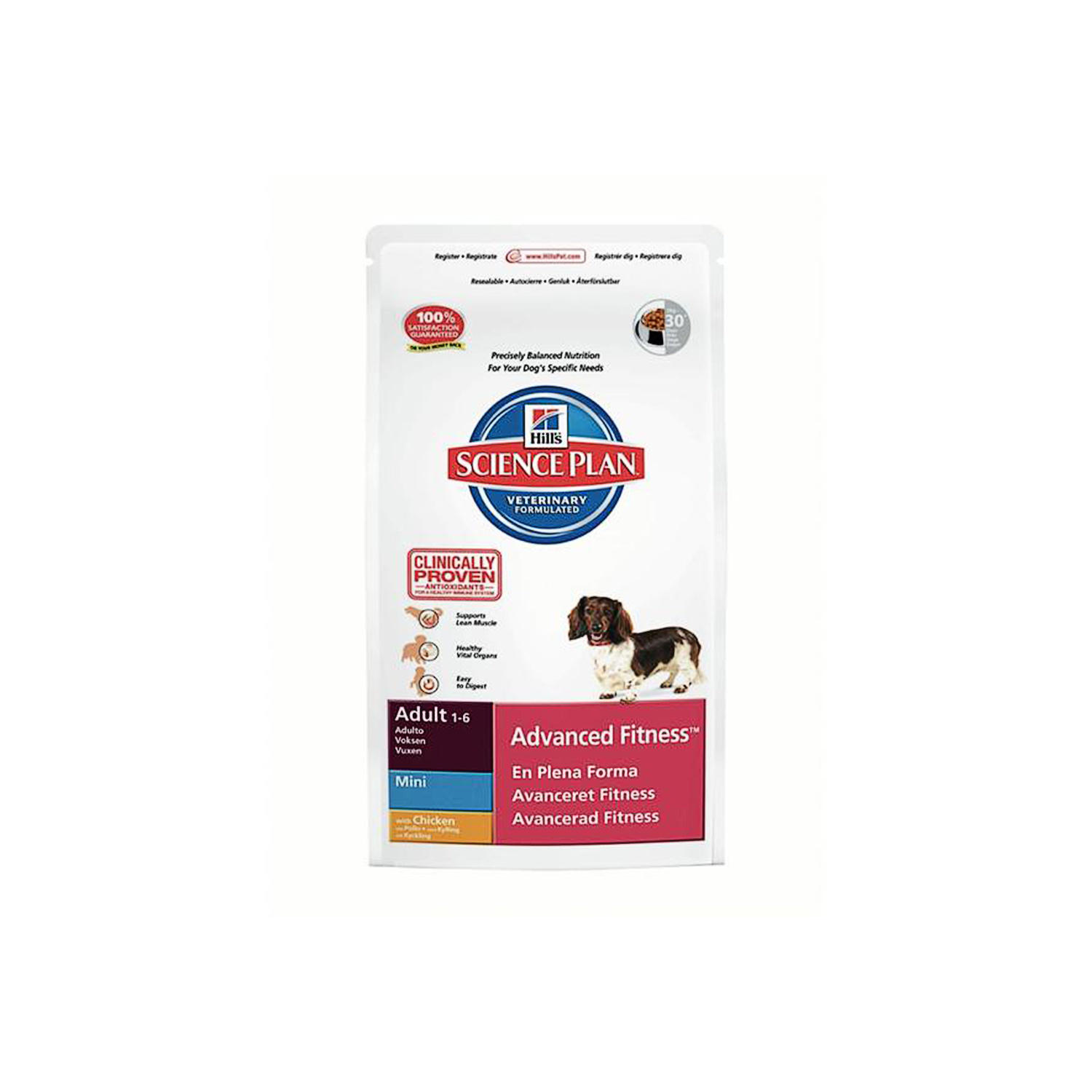 Click to view product details and reviews for Hills Science Plan Canine Adult Advanced Fitness Mini Chicken.
